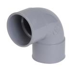 Coude PVC - Femelle / Femelle - 87°30 - Diamètre 40 mm - Nicoll CH88