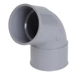 Coude PVC - Femelle / Femelle - 67°30 - Diamètre 63 mm - Nicoll CL66