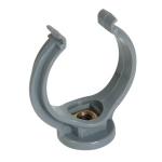 Collier lyre - Diamètre 40 mm - Gris - Nicoll CO40