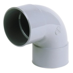 Coude PVC - Femelle / Femelle - 87°30  - Diamètre 80 mm - Nicoll CR88