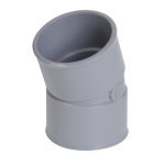 Coude PVC - Femelle / Femelle - 20° - Diamètre 100 mm - Nicoll CT22
