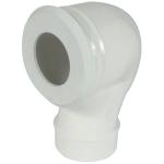 Pipe coudée pour WC - Diamètre 100 mm - Sortie verticale - Nicoll CWP33