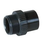 Embout PVC Pression - Femelle - Diamètre 40 / 50 mm - Filetage 40 / 49 - Nicoll E4040F