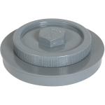 Tampon de visite PVC - Avec bouchon - Mâle / Femelle - Diamètre 200 mm - Nicoll FB