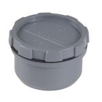 Tampon de visite PVC - Avec bouchon - Mâle / Femelle - Diamètre 32 mm - Nicoll FF