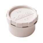 Tampon de visite PVC - Avec bouchon - Mâle / Femelle - Diamètre 32 mm - Nicoll FFB - Blanc