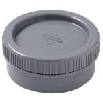 Tampon de visite PVC - Avec bouchon - Mâle / Femelle - Diamètre 140 mm - Nicoll FY