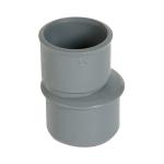 Réduction - Mâle / Femelle - Extérieure excentrée - Diamètre 50 / 32 mm - Nicoll IJ2
