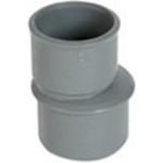 Réduction - Mâle / Femelle - Extérieure excentrée - Diamètre 75 / 50 mm - Nicoll IP2