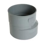 Réduction - Mâle / Femelle - Extérieure excentrée - Diamètre 80 / 75 mm - Nicoll IR1