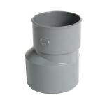 Réduction - Mâle / Femelle - Extérieure excentrée - Diamètre 100 / 80 mm - Nicoll IT2