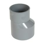 Réduction - Mâle / Femelle - Extérieure excentrée - Diamètre 100 / 75 mm - Nicoll IT3
