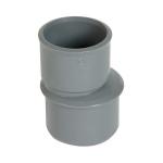 Réduction - Mâle / Femelle - Extérieure excentrée - Diamètre 100 / 50 mm - Nicoll IT5