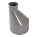 Réduction - Mâle / Femelle - Extérieure excentrée - Diamètre 100 / 40 mm - Nicoll IT6