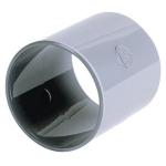 Manchon PVC - A butée - Femelle / Femelle - Diamètre 40 mm - Nicoll M2H