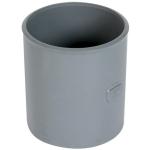 Manchon PVC - A butée - Femelle / Femelle - Diamètre 50 mm - Nicoll M2J
