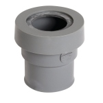 Manchette PVC sorties appareils sanitaires avec Joint - Femelle / Femelle - Diamètre 40 mm - Nicoll