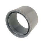 Manchette PVC d'adaptation à visser pour bouchon 100 mm - Femelle 100 mm- Nicoll