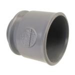 Manchette PVC d'adaptation à visser pour bouchon 32 mm - Femelle 32 mm - Nicoll