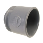 Manchette PVC d'adaptation à visser pour bouchon 40 mm - Femelle 40 mm - Nicoll