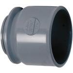 Manchette PVC d'adaptation à visser pour bouchon 50 mm - Femelle 50 mm - Nicoll