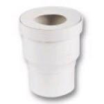 Pipe droite pour WC - Diamètre 80 mm - Nicoll QW66
