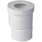 Pipe droite pour WC - Diamètre 100 mm - Excentrée - Nicoll QW810E