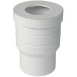 Manchette PVC avec joint - Pour WC - Diamètre 100 mm - Nicoll