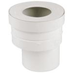 Pipe droite pour WC - Diamètre 93 mm - Excentrée - Nicoll SRW3E