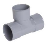 Té PVC - Pied de biche - Femelle / Femelle - 87°30 - Diamètre 32 mm - Nicoll TF188