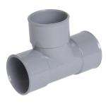 Té PVC - Pied de biche - Femelle / Femelle - 87°30 - Diamètre 40 mm - Nicoll TH188