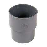 Manchette PVC de réparation pour tube non prémanchonné - Mâle 93 mm / Femelle 100 mm - Nicoll