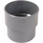 Manchette PVC de réparation pour tube non prémanchonné - Mâle 118 mm / Femelle 125 mm - Nicoll