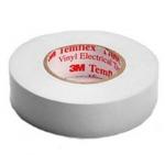 Ruban adhésif vinyle - 3M TEMFLEX 1500 - Blanc - 19 mm x 20 Mètres - 3M 80479