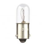 Lampe Miniature - Culot BA9S - 130 Volts - 2.6 Watts - Tube 10 x 28 - Par 5 - ABI - Aurora AB23455