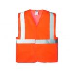 Gilet Orange - Haute visibilité - Taille unique - Bizline 731673