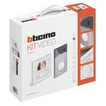Kit Vidéo - Bticino CLASSE 100 V12E LINEA 3000 - Bticino BT363411