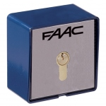 Contacteur à clé - T21 - En Saillie - 2 contacts - Faac 401013