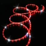 Cordon lumineux - 44 mètres - 30 Leds / mètre - Rouge - Festilight 172W44H-2