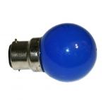 Ampoule à LED - Culot B22 - Bleu - Festilight 65682-3PC