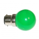 Ampoule à LED - Culot B22 - Vert - Festilight 65682-4PC