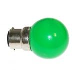 Ampoule à LED - Culot B22 - Vert - Festilight 65682-4PC