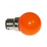 Ampoule à LED - Culot B22 - Orange - Festilight 65682-5PC