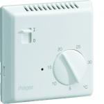 Thermostat - Fil Pilote - Semi encastré - Hager 25113