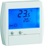 Thermostat digital - Fil Pilote - Semi encastré - Hager 25120