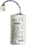 Pile lithium - Alarme Radio - 3.6V - 5 Ah - Hager BATLI01