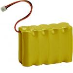 Batterie centrale - Pour alarme Radio - 2AH - Hager BATNIMH2