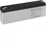Batterie Sirène extérieure - Pour alarme Radio - 2AH - Hager BATPB2