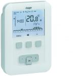 Thermostat ambiance programmable - Chauffage à eau chaude - Hager EK520