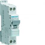 Disjoncteur Hager - 1 Phase + Neutre - 10A - 4.5kA - Courbe C - Vis / Vis